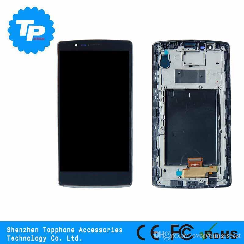 LCD móvil al por mayor para lg g4 lcd, para lg g4 pantalla lcd, para lg g4 lcd con toque digitalizador negro