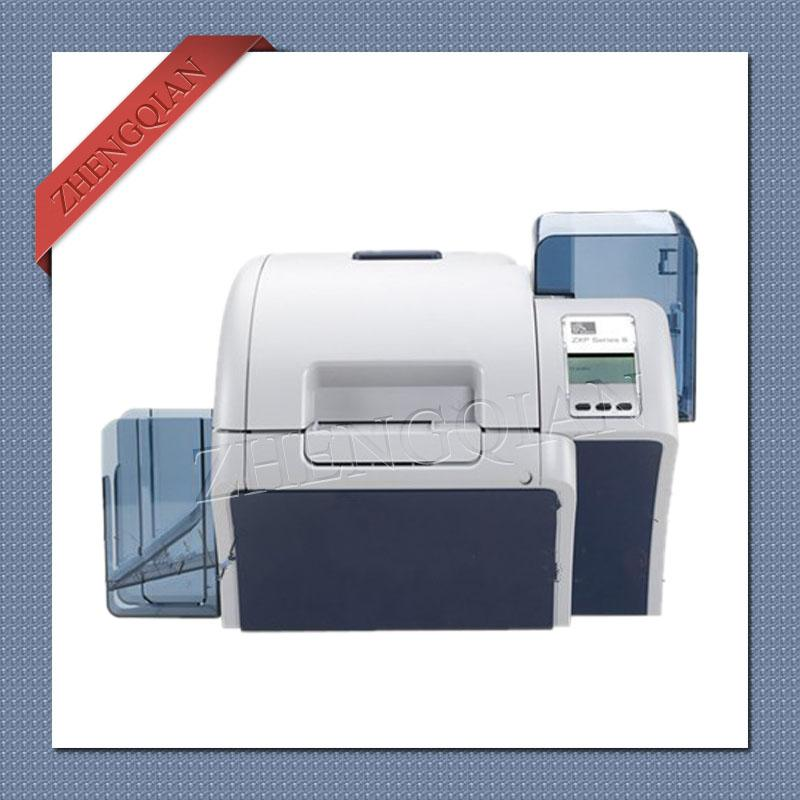 high security zebra zxp8 id pvc card printer dual sided with one zebra 800012 445 and two 800012 601 zebra card printer printer zebra id card printer online - Pvc Card Printer