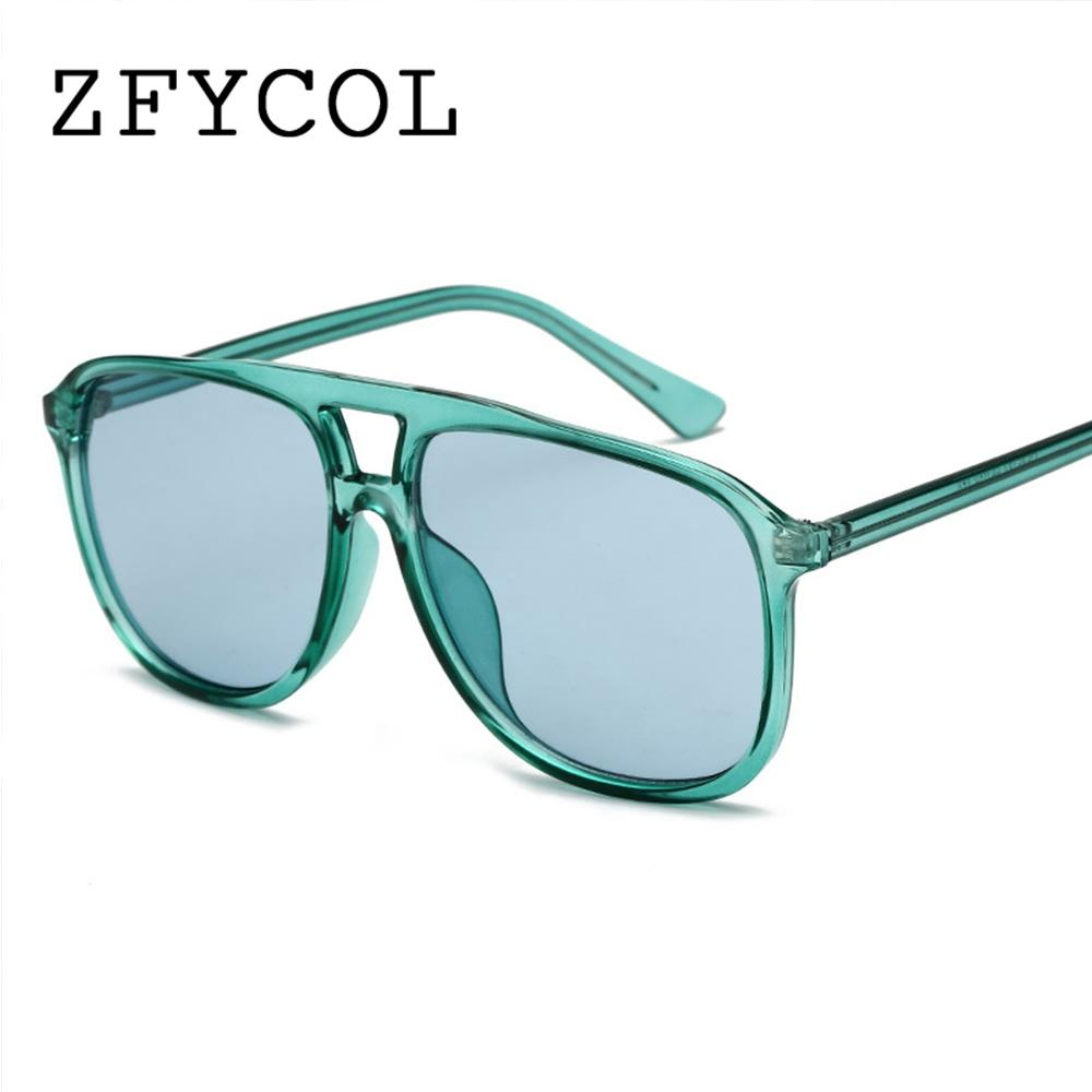 e5a204d06b Compre ZFYCOL 2018 Moda Caramelo Gafas De Sol Mujeres Hombres Diseño De La  Marca De Lujo Rosa Gafas De Sol Mujer UV400 Goggles Señoras Oculos Feminino  A ...