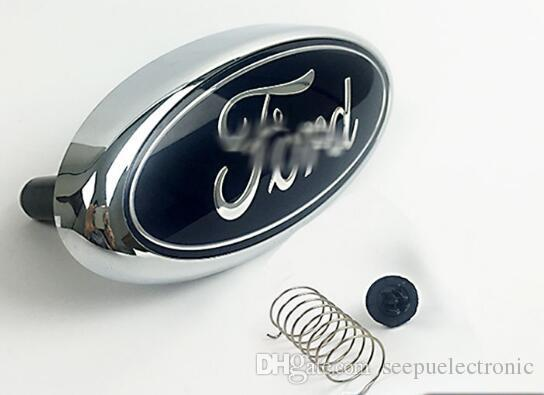 Front Grille Emblem Badge Mark Logo1.8 Liter Fit for FORD FOCUS 2 2005-2013