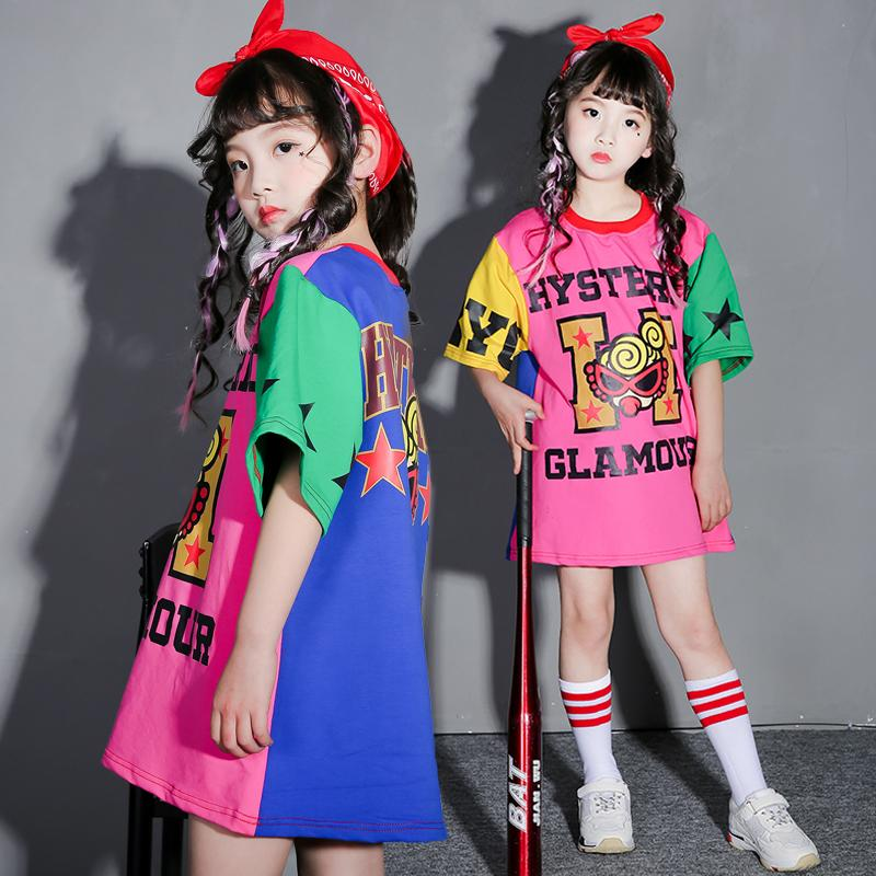 1bb0eb37fa10 2019 Children'S Street Dance Costumes Girls Hip Hop Suits Children'S  Clothing Dance Clothes Performance Clothing From Bailanh, $48.43 |  DHgate.Com