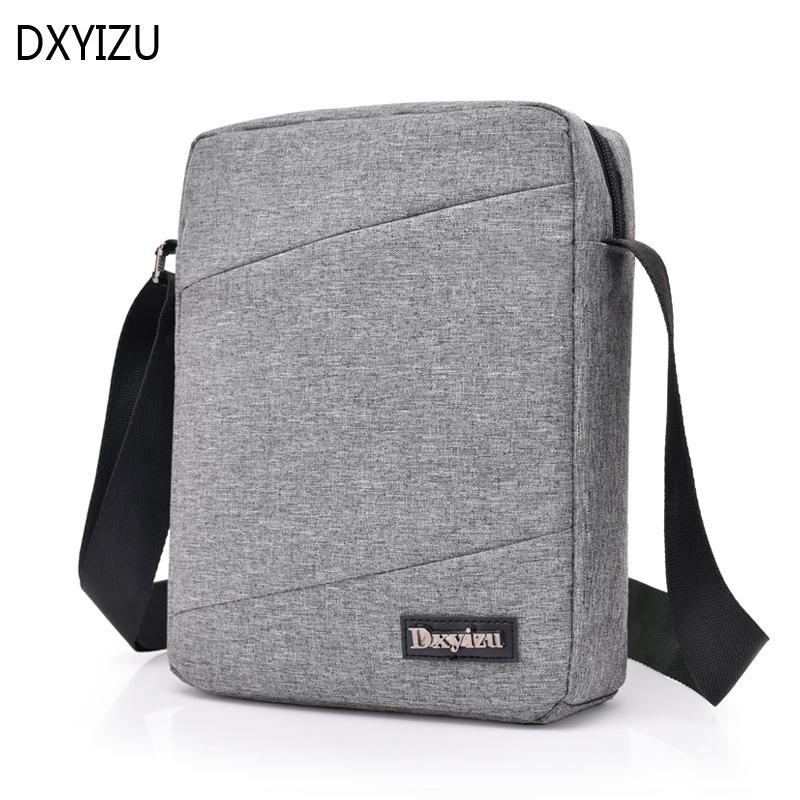 a9f6f7d58a02 DXYIZU Brand Men Shoulder Bag Oxford Crossbody Bags Waterproof Male  Messenger Bag Women Small Travel Business Bags Hobo Purses Ladies Purses  From ...