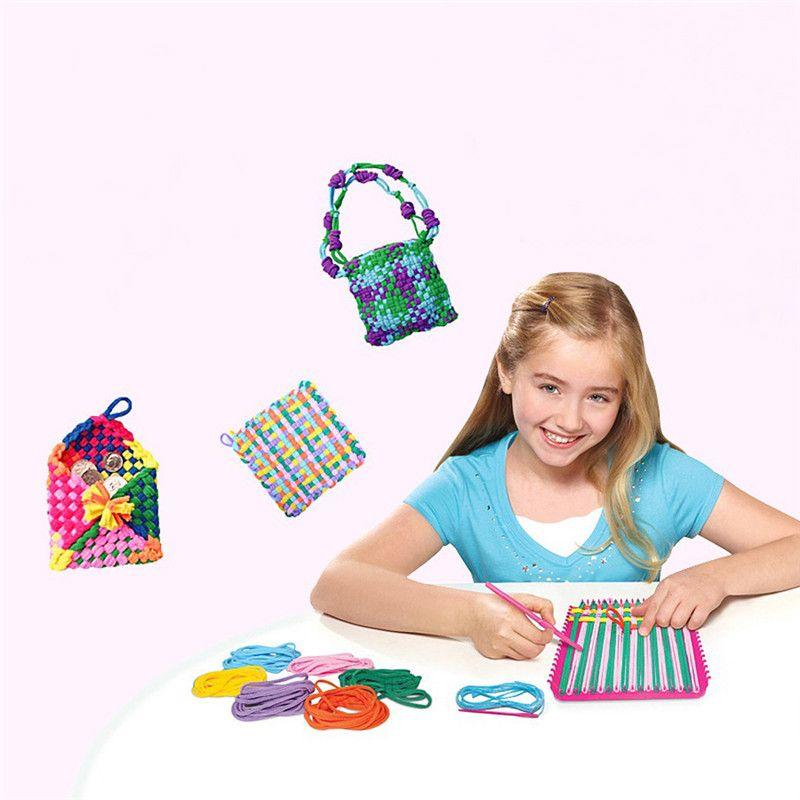 2019 Craft Loops Weaving Loom Toy Yarn Craft Kids Learning