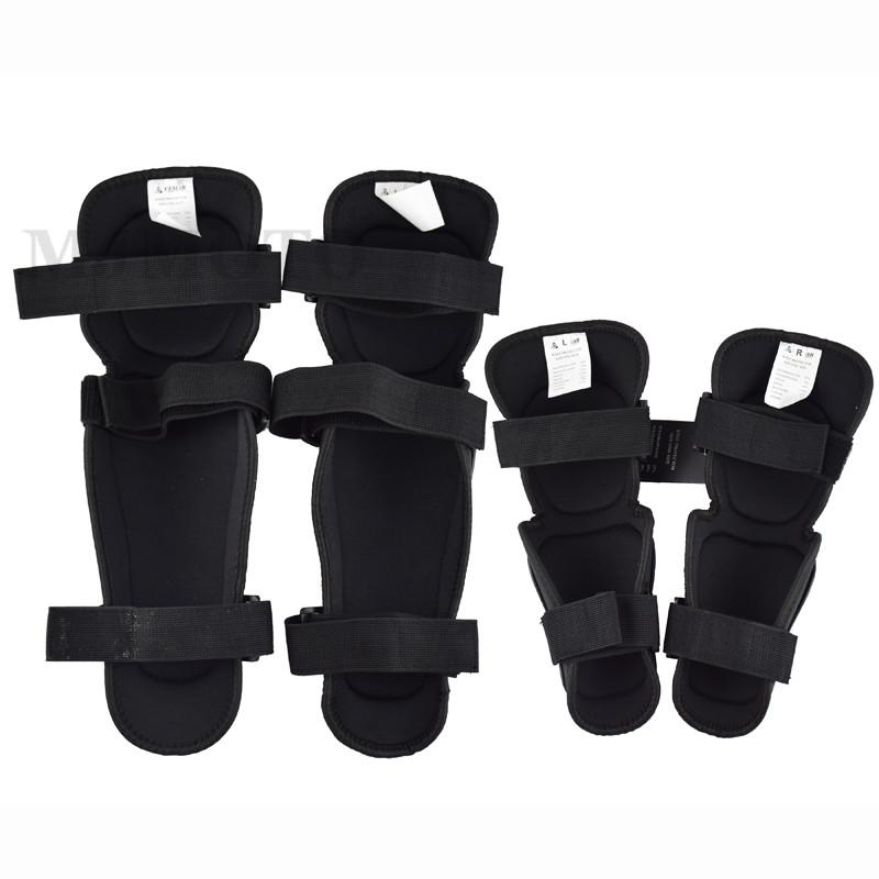 VEMAR Knee Pads Kneepad Motorcycle Protect Knee & Legs Guard Pads Tactical Firmly Fixed Adjustable Elbow Pad Arm Black