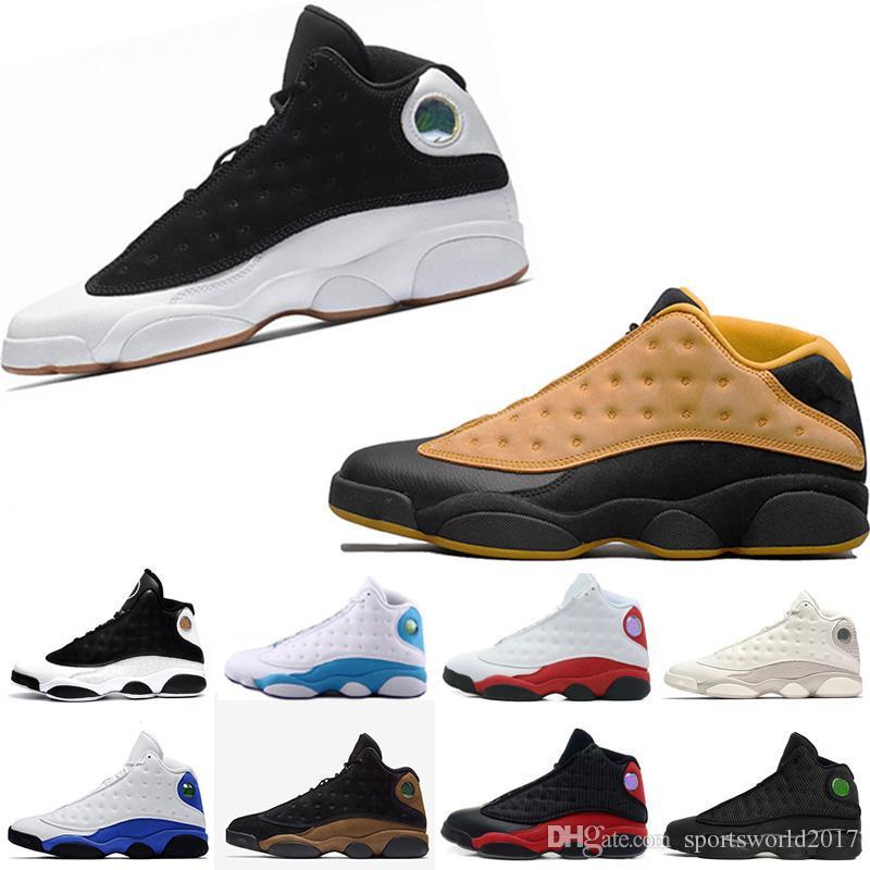 best cheap c40c8 879f6 Retro Air Jordan 13 AJ13 Nike Hombres 13s Criados Que Tiene Juegos Respeto  Hombre Zapatos De Diseño Barones Fantasmas Hombres Atléticos Deportes  Escarpe ...