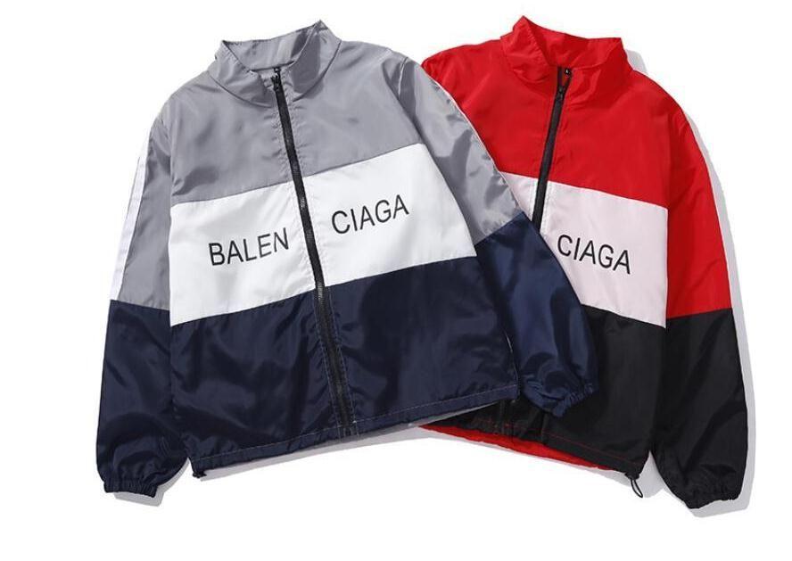 Designer Jackets 2018 New Fashion Brand Tide Mens Jacket