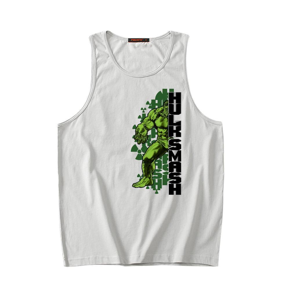 d11efb0dae799 New Marvel Avenger Hulk Print Mens Tank Tops Sleeveless Vest Summer Fashion  Men Top Tee Cotton Undershirt Undershirt Sleeveless Vest Men Fashion Men  Top Tee ...