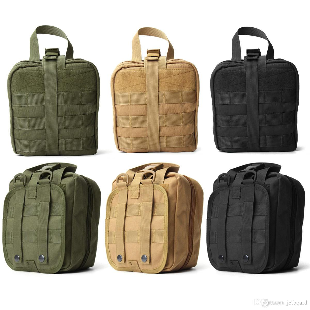 Outdoor Utility Tactical Pouch Medical First Aid Kit Patch Bag Molle ... c2b8e24aa9390
