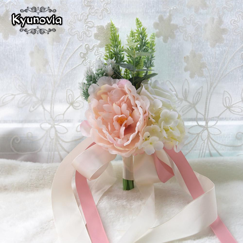 Grosshandel Grosshandel Blush Pink Hochzeit Blumen Mit Kunstlichen