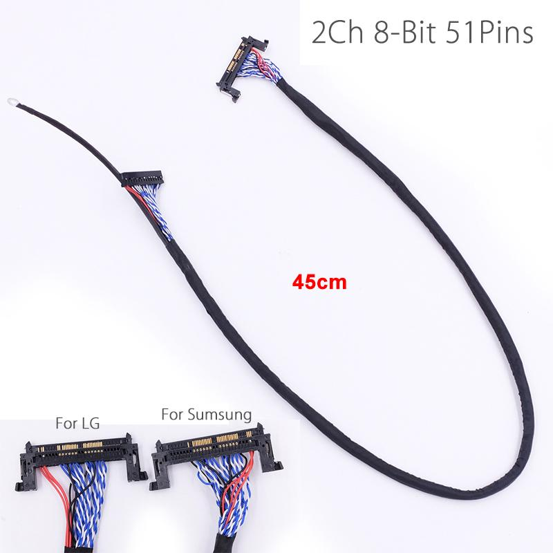 2019 fi re51p lvds cable 2 ch 8 bit 51 pins 51pin dual 8 lvds cable Wire Keepers 2019 fi re51p lvds cable 2 ch 8 bit 51 pins 51pin dual 8 lvds cable lcd panel matrix screen 2 models led monitor line rope cord from boluohui