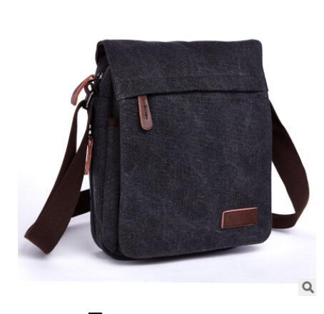 c2fa64e85d Zuolunduo Men Canvas Messenger Bag Vintage Man Shoulder Bag Men S Cross Body  Waterproof Multifunction Men Handbag Canvas Hobo Bags Designer Bags From ...