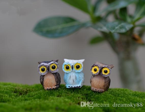 Micro Mini Fée Jardin Miniatures Figurines Oiseaux Oiseaux Animal Action Figure Jouets Ornement Terrarium Accessoires Accessoires de Cinéma