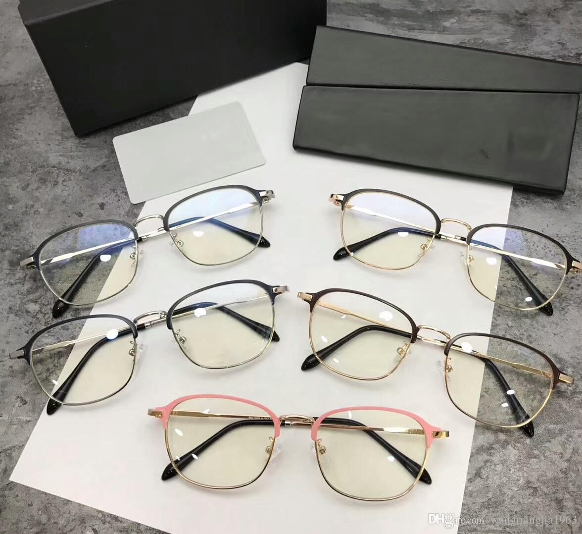 4c9197ed876b 2019 New Eyeglasses Frame Women Men Brand Designer Eyeglass Frames Designer  Brand Eyeglasses Frame Clear Lens Glasses Frame Oculos 9023 With Case From  ...