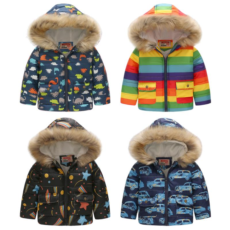 217aa2b3d997 Cute Car Winter Kids Jacket Boys Outerwear Coats Active Boy Windbreaker  Cartoon Sport Suit For Children Clothes Baby Boy Parkas Kids Jackets For  Winter ...
