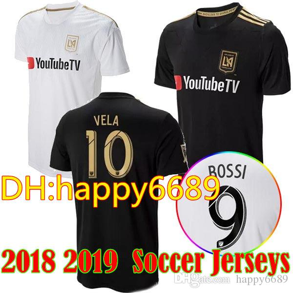 6a6690709 2019 2018 2019 Los Angeles FC Soccer Jerseys 18 19 LAFC Home Away Carlos Vela  GABER ROSSI CIMAN ZIMMERMAN TOP Quality Football Shirts From Happy6689