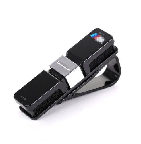 10df41b4c825 Car SunGlasses Holder M Emblem Stickers For BMW E46 E39 E90 E36 F30 F10 X5  E35 E34 E30 F20 E92 E60 E61 F11 F34 Z4 X1 X3 X5 X6 M5 Car Decor ...
