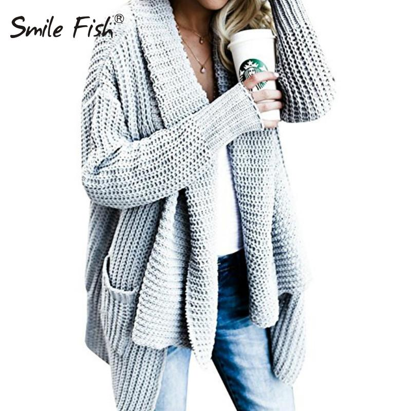 Knitted Coats Cardigans Women Knit Long Sleeve Loose Jackets Warm Top  Pockets Open Stitch Autumn Winter Femme Oversize GV088 UK 2019 From  Red2015 96432b488