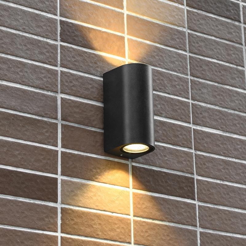 2018 Up Down 10w Cob Led Wall Mount Light Fixture Waterproof Lamp Outdoor Lighting Walkway Balcony Yard Door From Stylenew 44 92 Dhgate Com