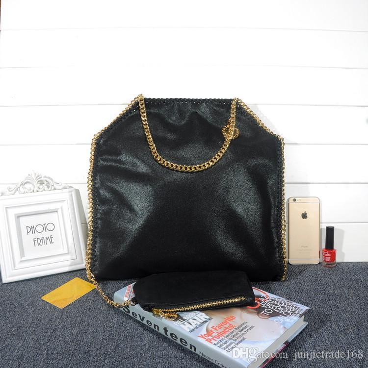 Dropshipping Big 37cm Stella Handbags Luxury Material Pvc Falabella Chain  Large Shopping Bag Tote New List High-top St Chain Shoulder Bag Chain Bag  Online ... 37369f1d0329e