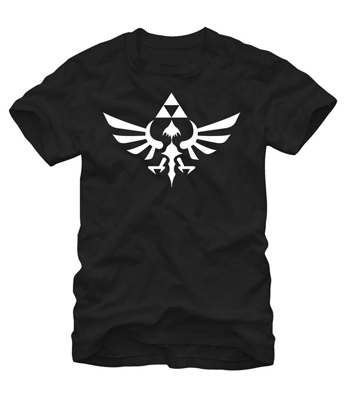 Zelda Legend Triumphant Triforce Camicia Uomo T Shirt Novità O - Neck Tops Pre - Cotton Tee Shirt per uomo Movie T-shirt Top Tee