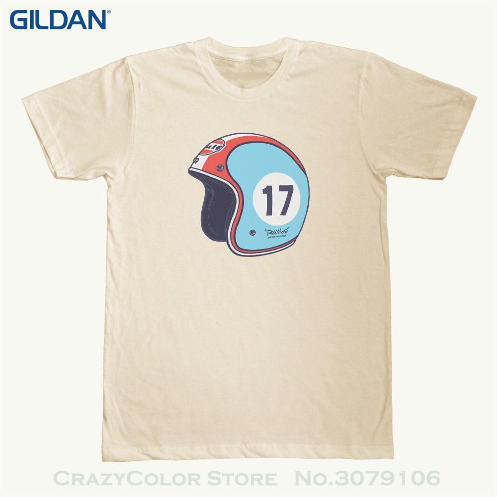 Fashion Print Tshirt Helmet Series Ride More Graphic Printed On