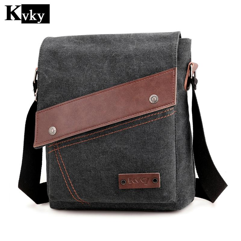 89cda0a472fc 2018 Spring Canvas Man Bag Famous Designer Vintage Male Single Shoulder Bag  Messenger Bags School Crossbody Messenger Bags Satchel From Amoyshoes