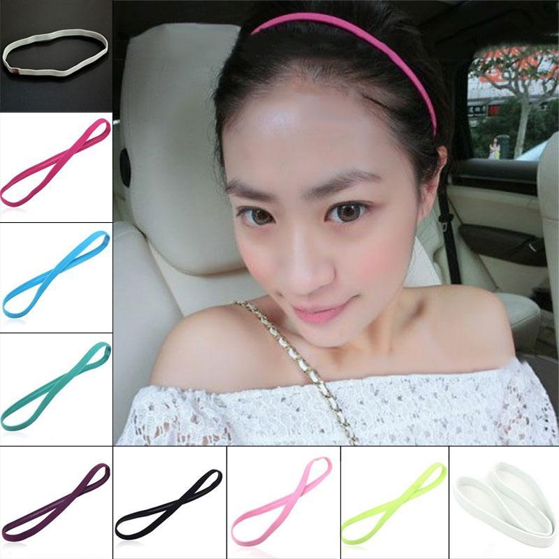 4614393c2a Foulard sportivo elastico per donna Elastico solido regolabile antiscivolo  per capelli Accessori per capelli Negozio XR-Hot