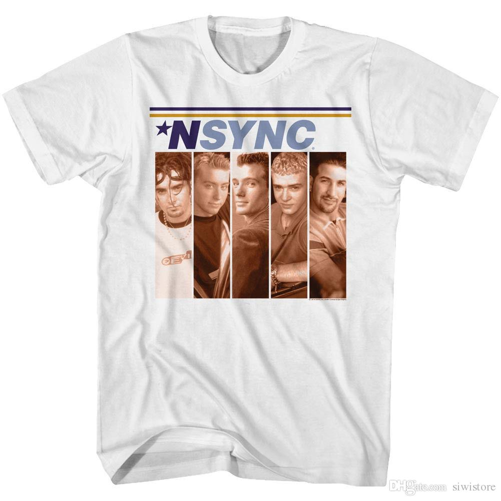 17567217 NSYNC Mens T Shirt New FIRST ALBUM Cover In 100% White Cotton In Sizes SM  5XL Cool Shirts Designs Pt Shirts From Siwistore, $10.53| DHgate.Com