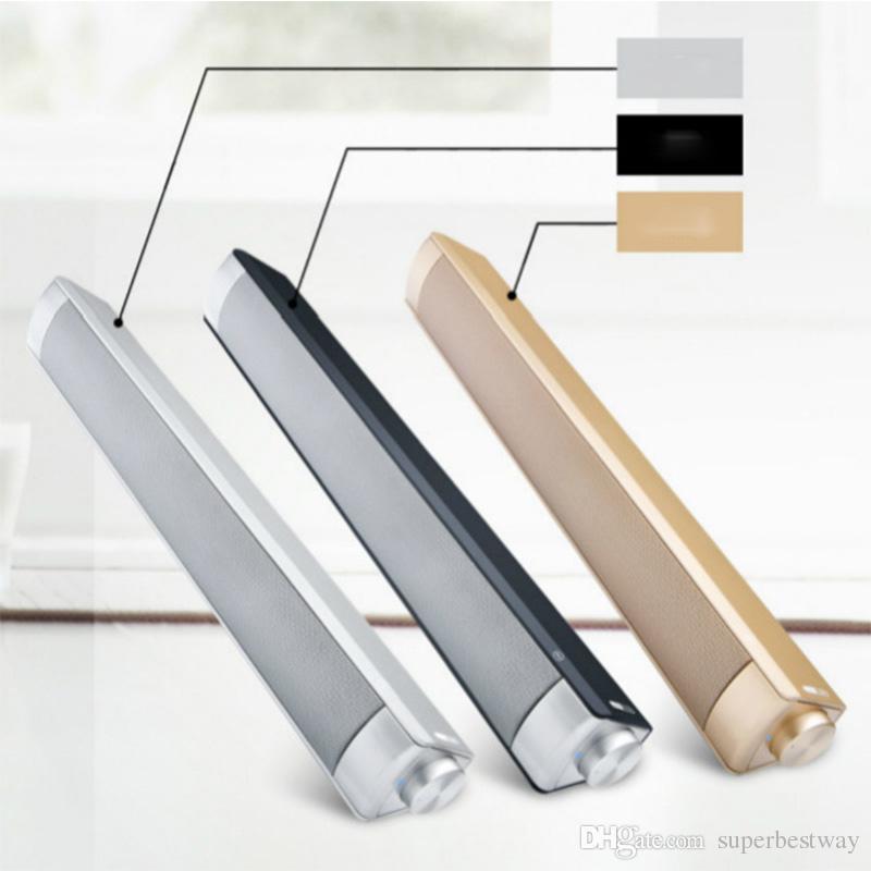 10W Bluetooth Speaker Sound Bar Wireless Subwoofer Soundbar Receiver Stereo Super Bass Loudspeaker For iphone TV Phone MIS182