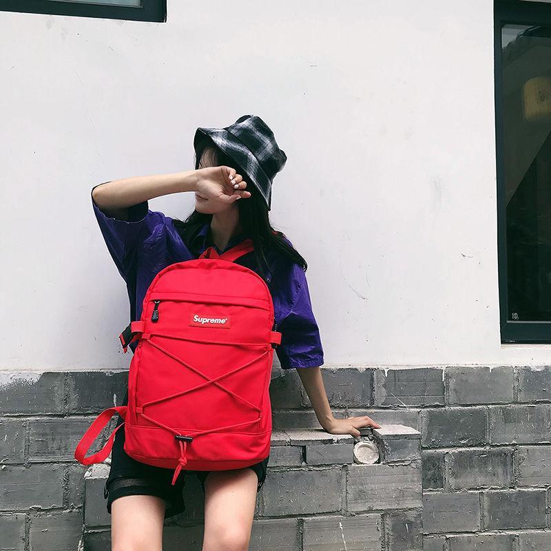 a0ca72caa67e Acheter Chanel Gucci Supreme Nike Louis Vuitton Adidas Bag CK LV Nouveau  Designer Sac À Dos Avec Lettre Imprimé Double Sac À Bandoulière De Luxe En  Plein ...