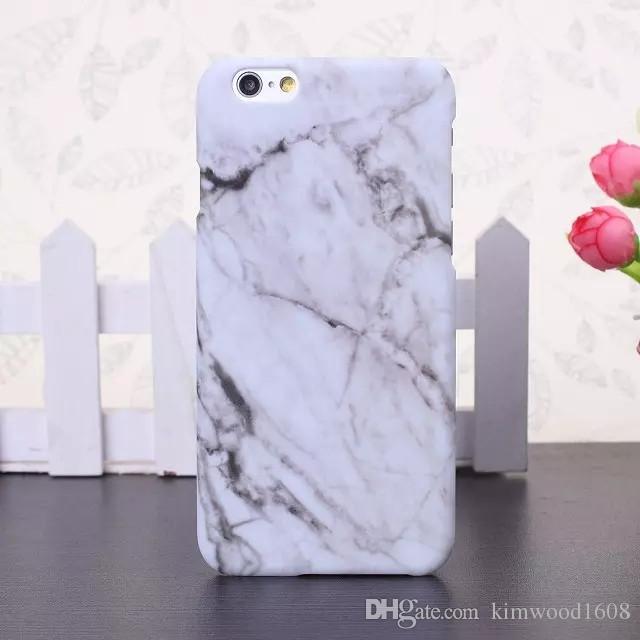 Haute Qualité Dur PC Marbre Peau Couverture Arrière Cas Protecteur Téléphone En Plastique Cas Pour iphone 6 6S 7 8 X Plus Livraison Gratuite
