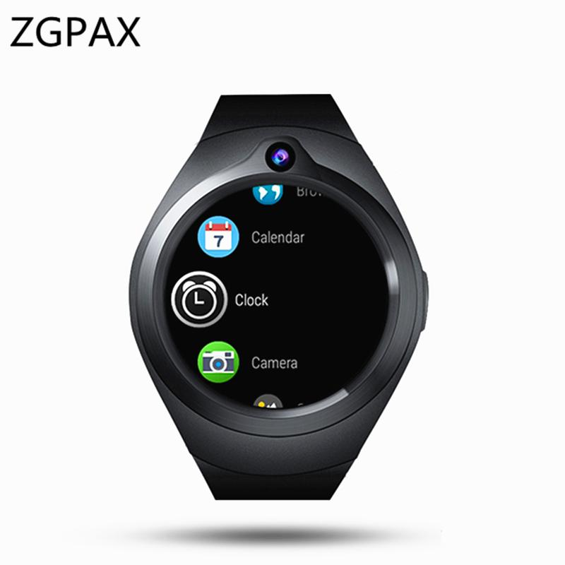 DEHWSG Smart Watch X16 MTK6580 Android Watch Phone RAM 1GB ROM 16GB 3G GPS  WiFi Smartwatch Heart Rtae Monitor Y1 Android version