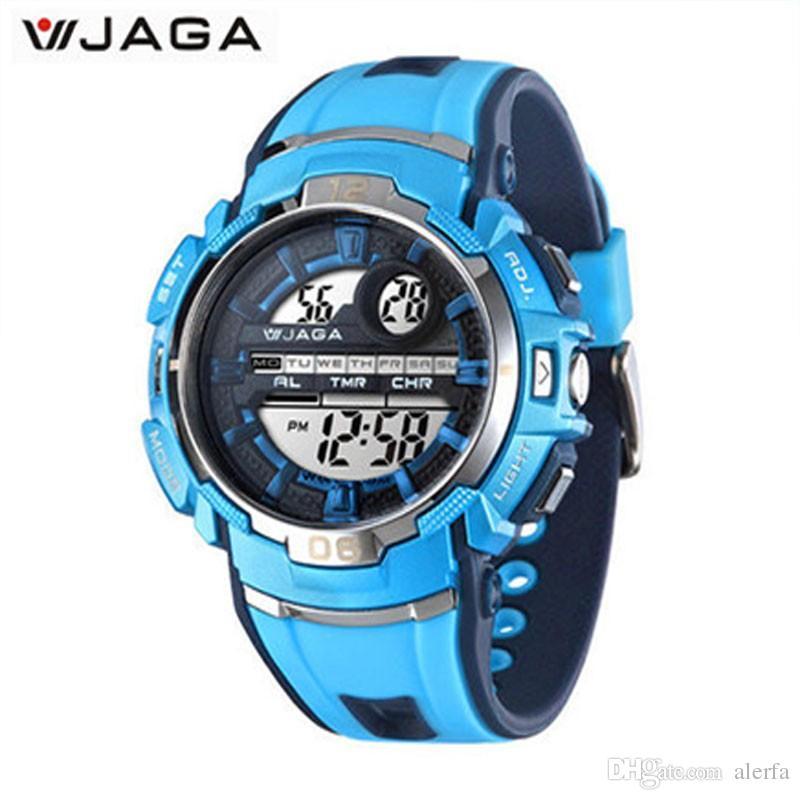 40a73a4e7608 Compre Relojes Deportivos Para Niños Multifunción Relojes De Pulsera  Electrónicos Impermeable Diver Deportes Reloj Para Niños Regarder M937 A   81.22 Del ...