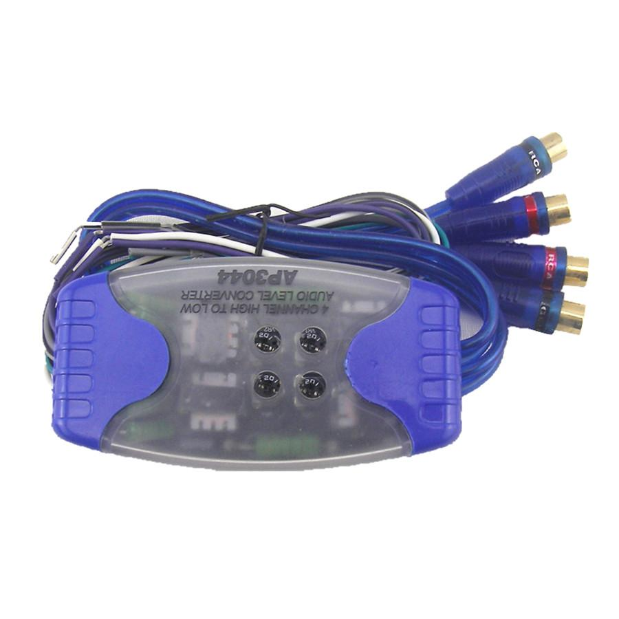 2018 Universal Car Stereo Audio Speaker Converter Wire To 4 Rca Hi Wiring Speakers Lo Line Level Adaptor High Low From Bestliner 3389