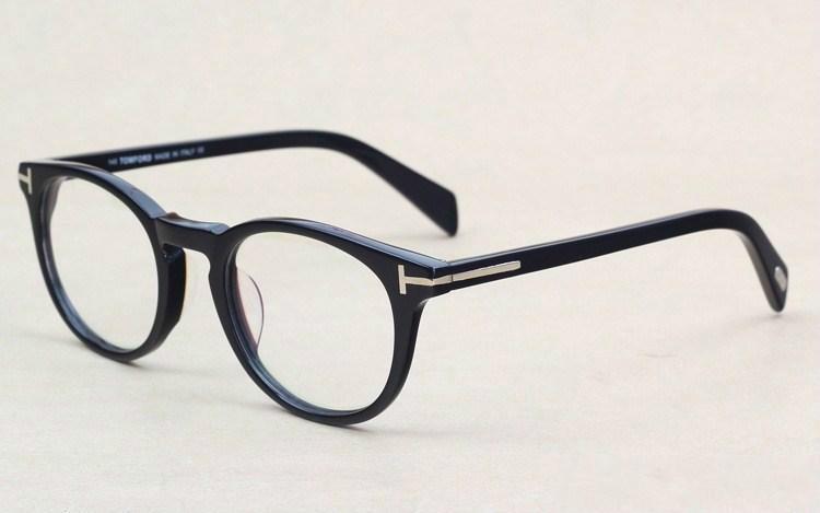 33e6e165ba Classic Retro Clear Lens Optical Frames Glasses Brand Designer Men ...
