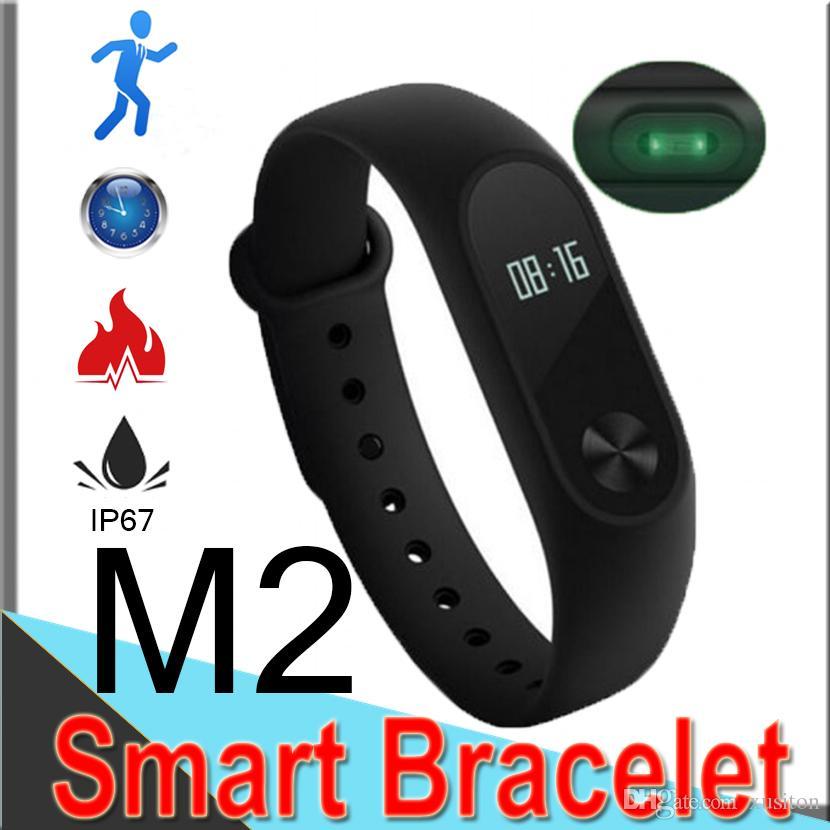 bc088ba2a197 M2 mi banda 3 Fitness Tracker Reloj Band Monitor de ritmo cardíaco Monitor  de actividad Pulsera inteligente Podómetro Salud Pulsera con paquete M88