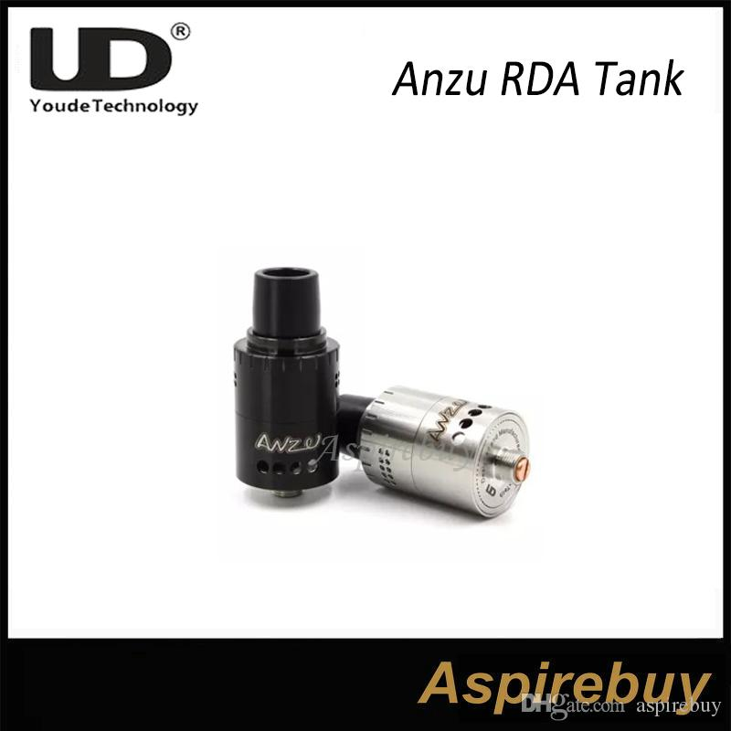 100% originale Youde ANZU RDA atomizzatore doppio controllo del flusso d'aria con velocità stile Deck 22mm diametro cono Delrin UD ANZU RDA serbatoio 100% originale