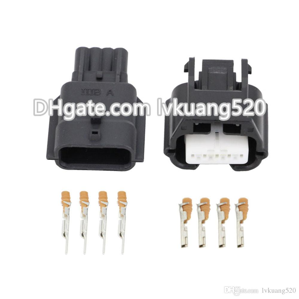 4 Pin Waterproof Connector Male and Female Electrical Wire Car Connector DJ7041K-0.6-11/21 Car Plug