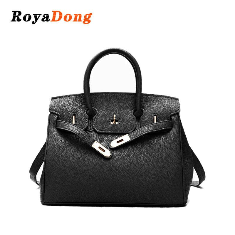 RoyaDong 2018 New Pu Leather Women Messenger Bags Fashion Shoulder Bag  Female HandBags Lady Crossbody Design Bags Y18102204 Hobo Bags Ladies  Handbags From ... 1a31ecf86aaf5
