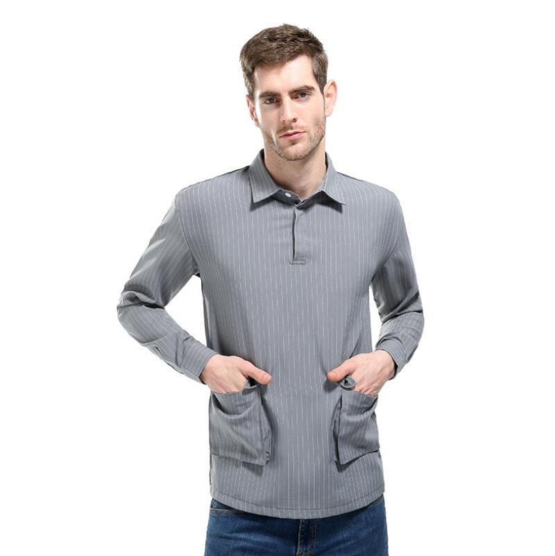 c361aa9bc83 2019 Plus Size Men Men S Fashion High End Trend Leisure Brand Personality  Men Clothes High Quality Long Sleeve Shirt From Bairi