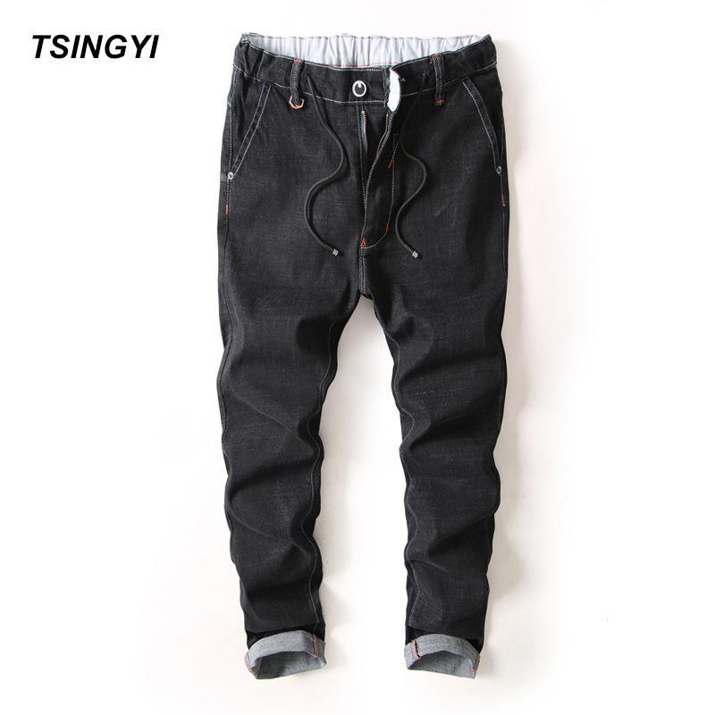 Élastique Acheter Homme Old Do Jeans Droite Style Tsingyi Hommes wXqCz