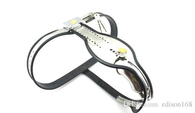 ensembles en acier inoxydable dispositif de ceinture de chasteté masculine Plug anal pour le bras soutien-gorge poignets poignet cuisse jambe genou anneau de cheville Bondage BDSM jouet de sexe