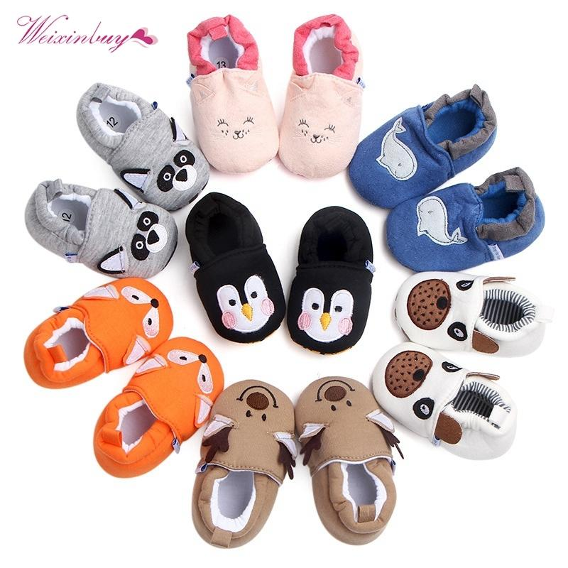 39ac44cd4d0d 2019 Fashion New Spring Autumn Winter Baby Girls Boy First Walkers Slippers  Newborn Footwear Booties 0 18M Toddler Crib Shoes Wholesale From  Dhtradeguide