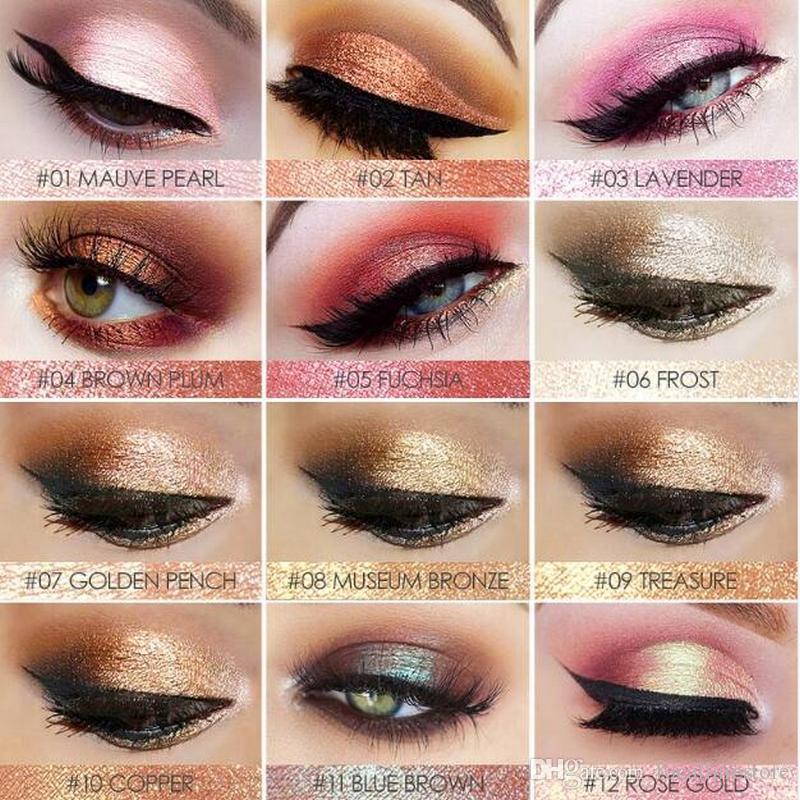 FOCALLURE Shine Eyeshadow Cosmetics Long Lasting Makeup Eye Shadow Diamond  Bright Shine Eyeshadow Smokey Eyeshadow Best Eyeshadow From Focallurestore ee3bd6540637
