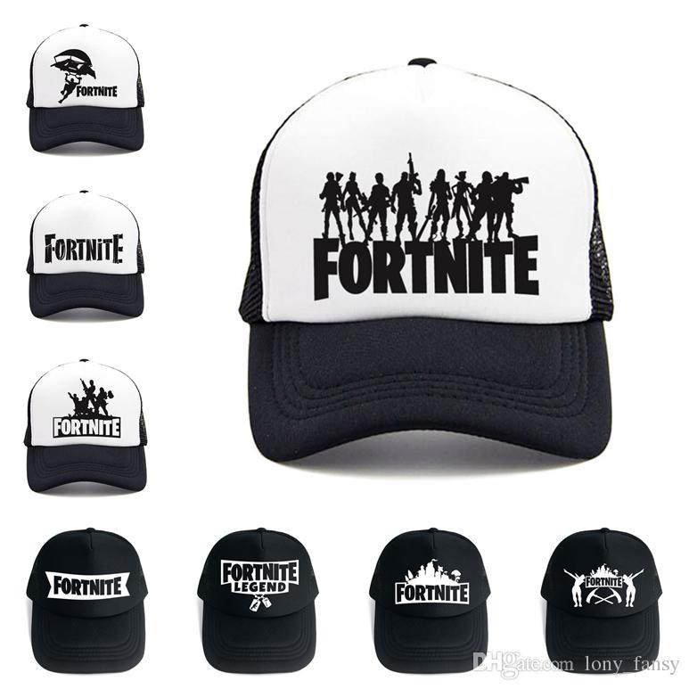 Fortnite Baseball Cap DIY Customize Printing Women Mesh Snapbacks Casquette  Designer Hat Dad Hat Bucket Fitted Hat Brand Hats Make Your Own Hat  Basecaps ... d0cbf795e40