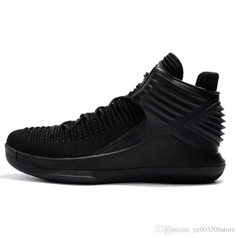 the best attitude 6c174 e1200 Acheter Nike Air Jordan Aj32 2018 Nouveau Arrivel Hommes Basket Ball  Chaussures JD 32S Blanc Bule Espadrilles Jaunes Air Chaussures De Sport  Athlétisme Mens ...