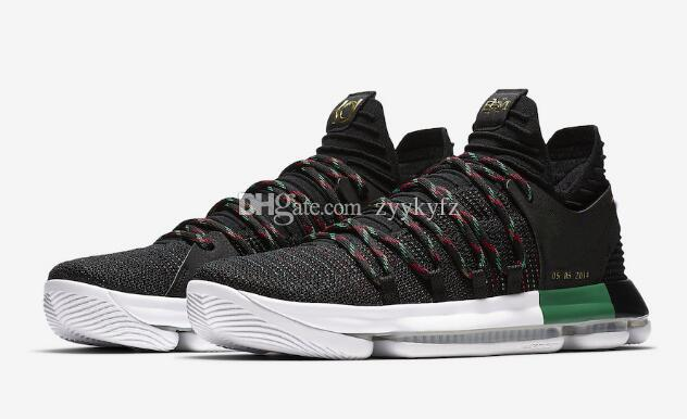 326f54e920a High Quality Athletic KD 10 BHM Basketball Shoes Multi-color Sports Shoes  Sneakers Basketball Shoes Online with  102.86 Pair on Zyykyfz s Store