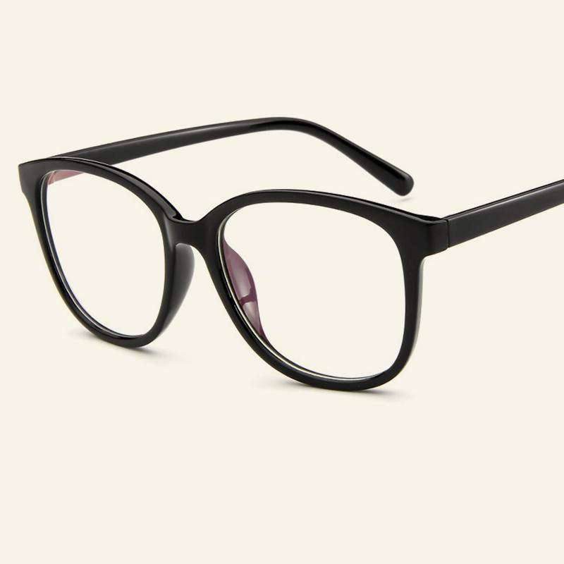 69e499057d Women And Men Classic Vintage Big Frame Eyeglasses Clear Lens Male Female  Casual Myopia Optical Glasses Frames Simple Goggles Eyewear Frames Cheap  Eyewear ...