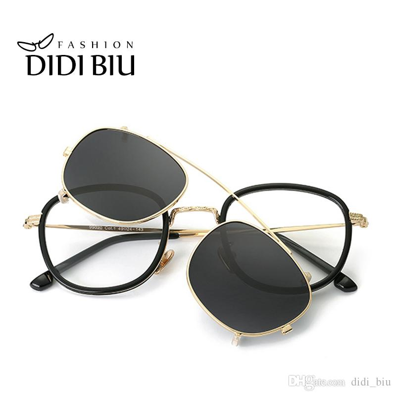 DIDI Hip Hop Steampunk Clip On Sunglasses Women Men Fit Over Double Lens Sun  Glasses Prescription Frames Glasses With Case U814 Canada 2019 From  Didi biu 2192a4e5a3