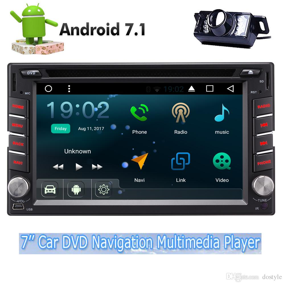 Car Electronics Car Multimedia Player Lovely Android 8.0 Auto Stereo Radio Multimedia For 2 Din Universal With 10.2 Hd Digital Capacitive Touch Screen Octa Core 32g Rom Discounts Sale